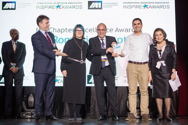 IAA Inspire Awards 2017-Chapter Excellence Award winners - Romania Chapter Presidents