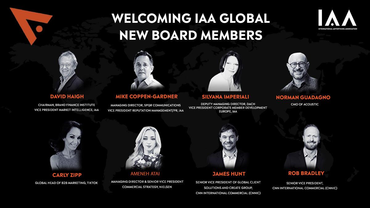 IAA welcomes the new board members
