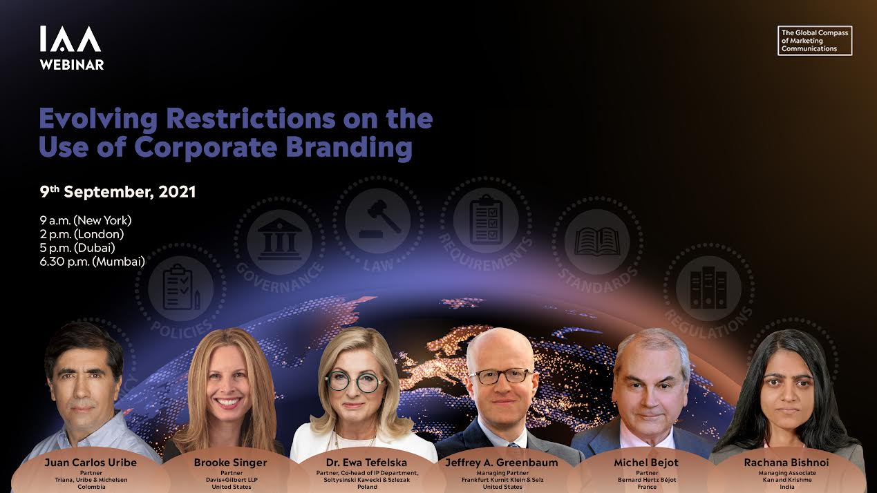 【IAA Global】Evolving Restrictions on the Use of Corporate Branding
